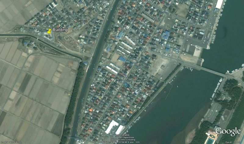 Japan disaster area